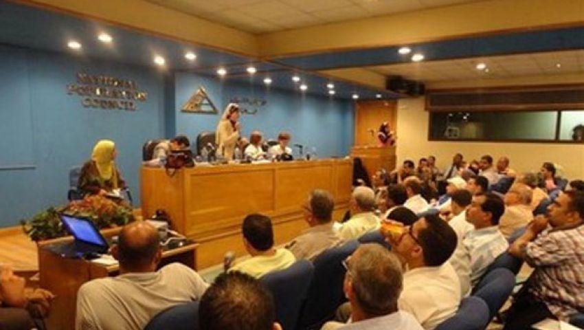 اعتصام موظفي القومي للإعاقة لاستقالة أمين المجلس
