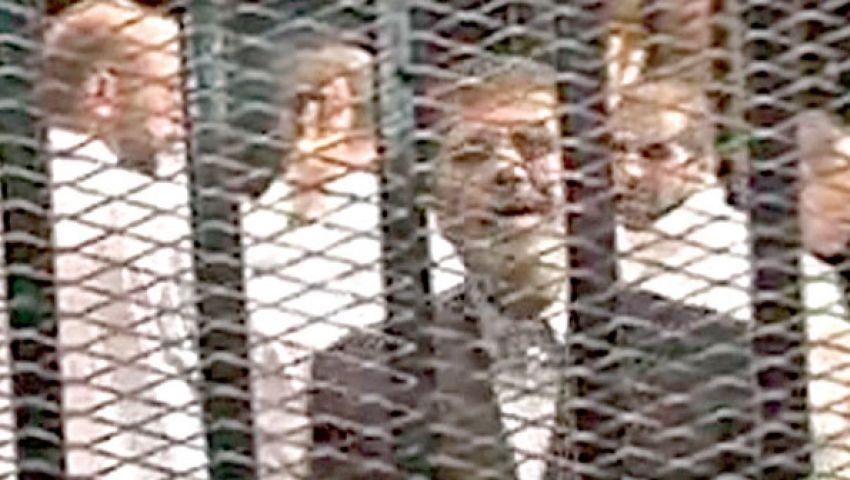 فيديو.. السجون: أحضرنا 3 صحف لمرسي للاطلاع عليها