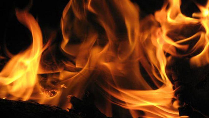 حريق في الفيوم بسبب مواد بترولية مهربة