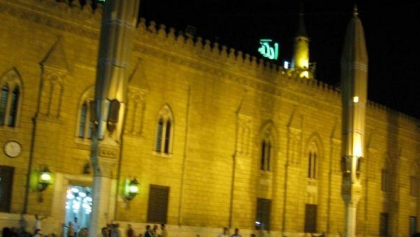 الشيعة يهربون من ضغط الأمن  في الحسين ويحتفلون بالجيزة