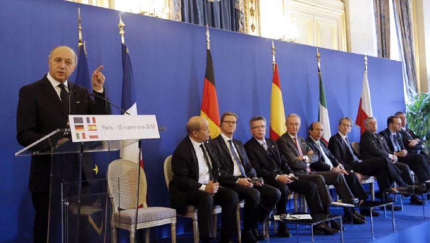 وزراء الخارجية الأوروبيون يناقشون أزمة مرسي