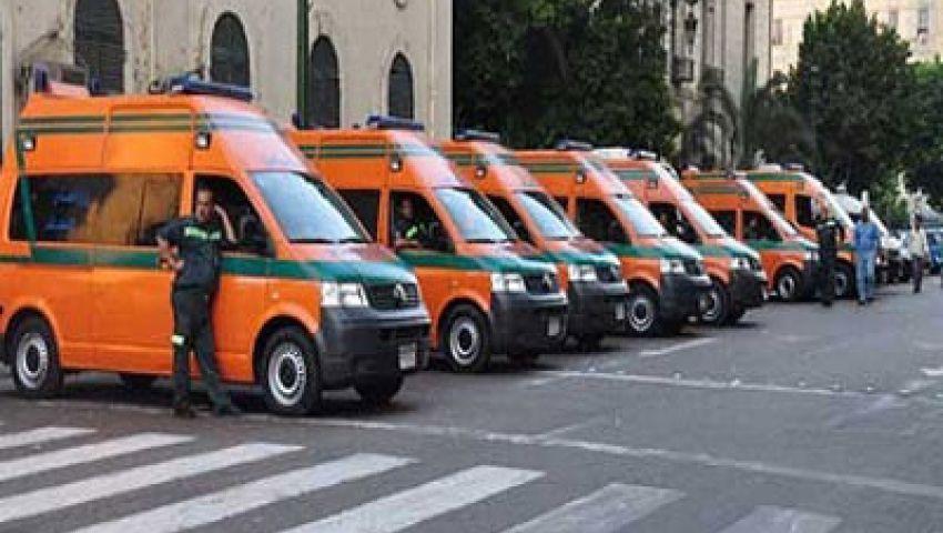 دعم الإسماعيلية بـ 90 سيارة إسعاف لتأمين احتفالات القناة الجديدة