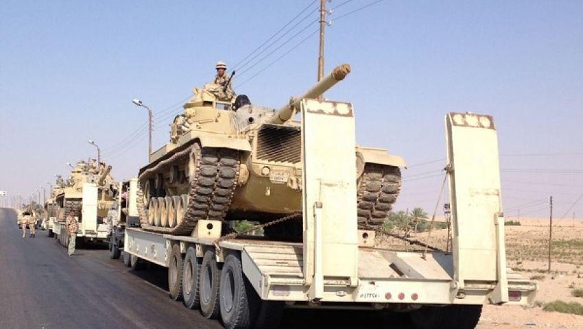 فيديو.. تحديد ساعة الصفر لتصفية معقل التكفيريين بشمال سيناء
