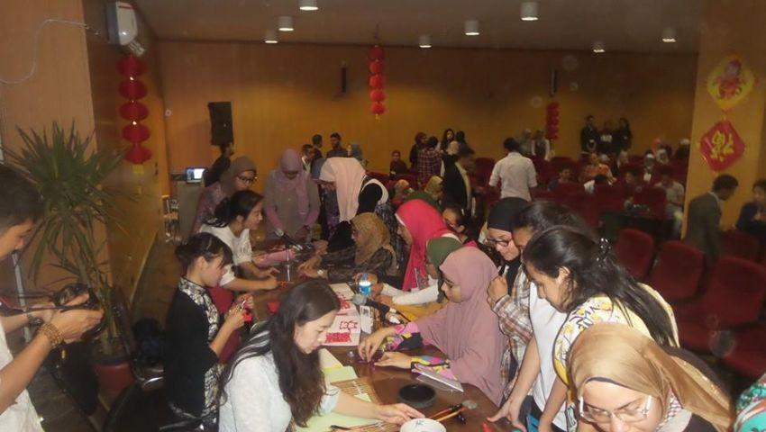 بالصور| كلية الألسن تحتفل باليوم الثقافى الصيني بحضور ممثلى السفارة