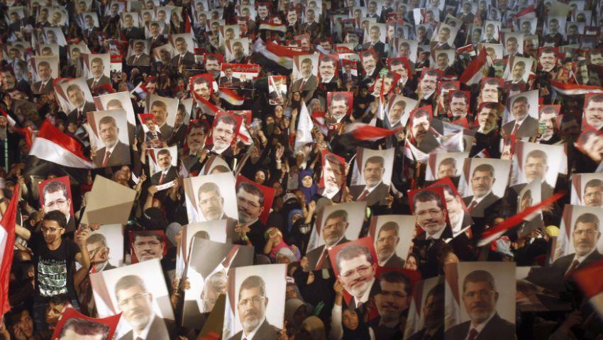 وقفة لمؤيدي مرسى في طنطا