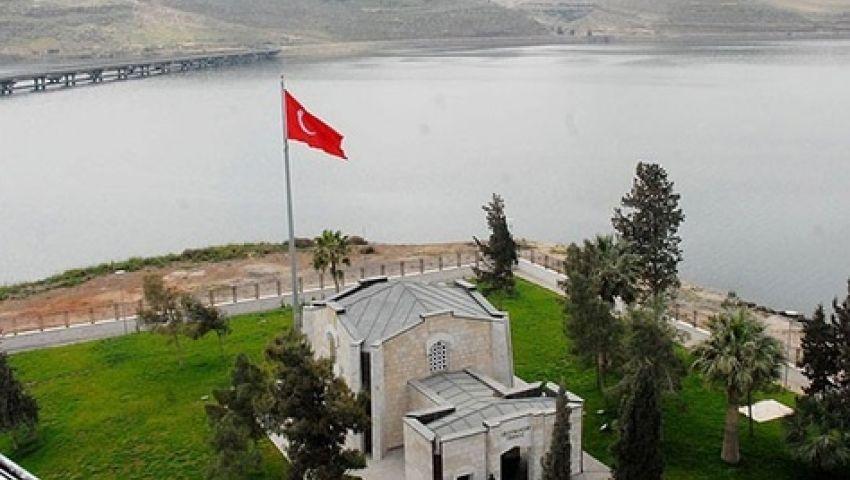 تركيا تجدد نفيها التخلي عن ضريح سليمان شاه لـداعش