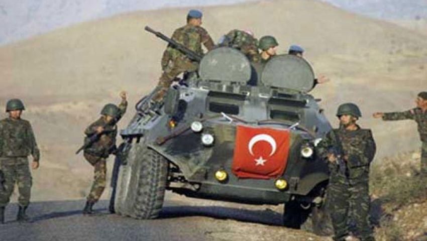 تركيا تشارك  في مناورات ذئب الصحراء