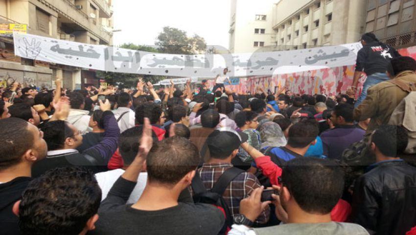 فيديو.. الداخلية لمتظاهري محمد محمود: احذروا المندسين
