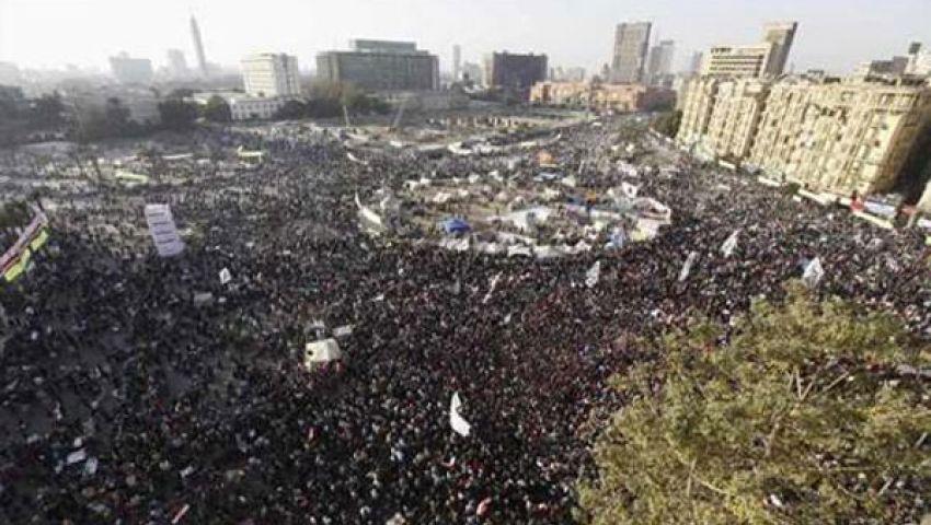 وصول مسيرتي شبرا وإمبابة إلى التحرير