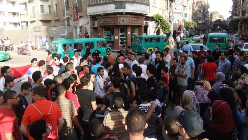 مسيرة بالسيارات في المنوفية لحشد المواطنين لـ30 يونيو
