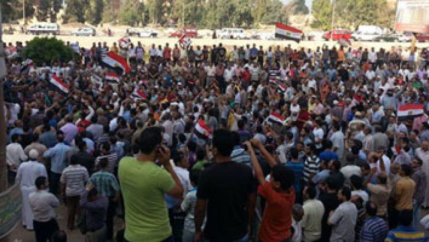 مؤيدو مرسي ببني سويف يزحفون لمليونية العبور