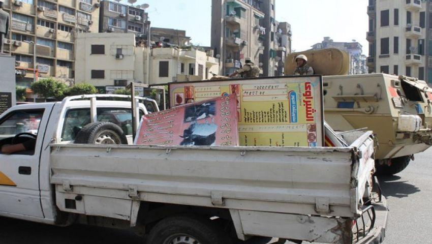 بالفيديو والصور.. حملة أمنية لنقل الباعة الجائلين إلى الترجمان