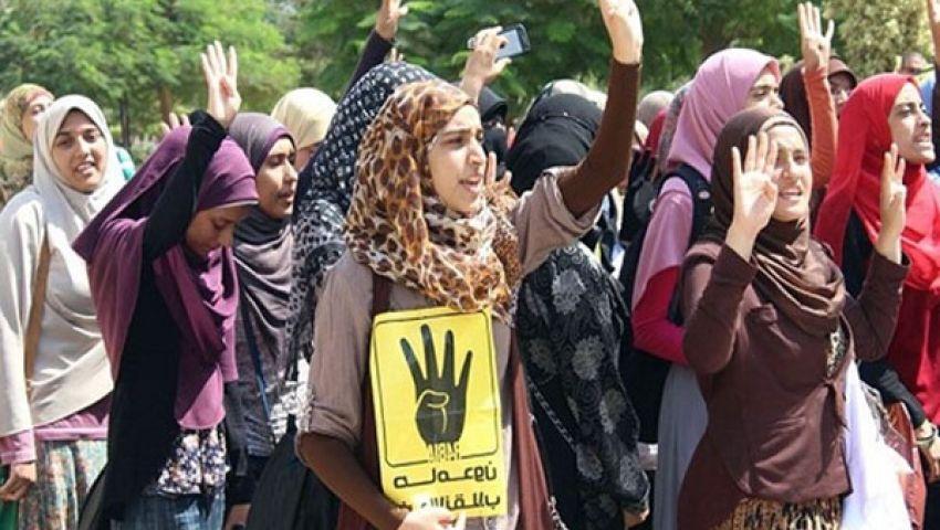 مسيرة لـتنسيقية القوى الثورية تضامنًا مع طلاب الأزهر