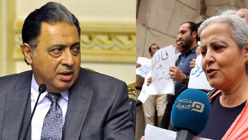 لهذه الأسباب.. اشتعلت الحرب بين وزير الصحة واﻷطباء