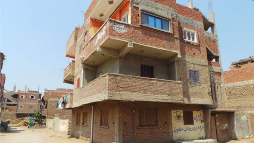بالصور.. منزل مرسي بالشرقية خالٍ من ساكنيه