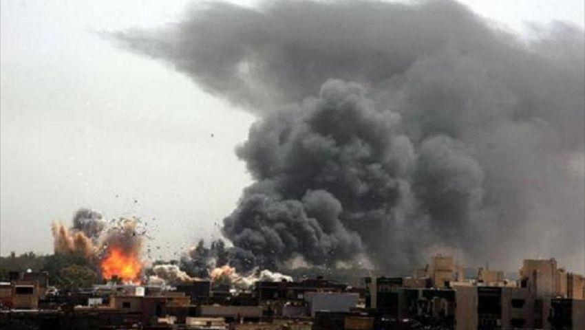 طائرات حفتر تقصف بنغازي بثمانية صواريخ