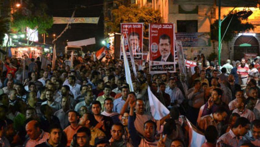 إطلاق نار على مسيرة مؤيدة لمرسي متجهة للمطار