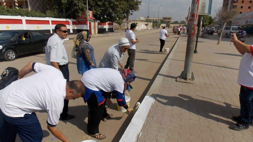 شباب المحلة يتحدى إهمال المحليات بحملة نظافة
