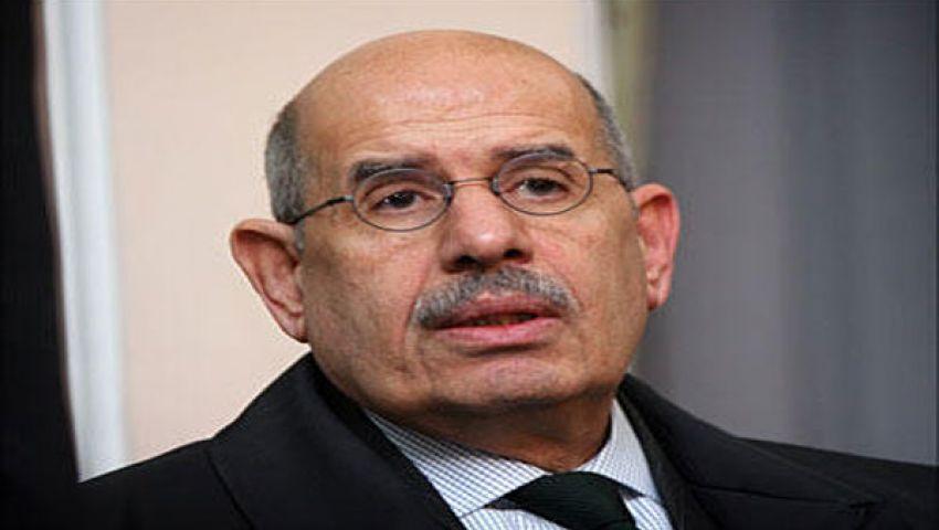 البرادعي يرفض التعليق على موعد عودته لمصر