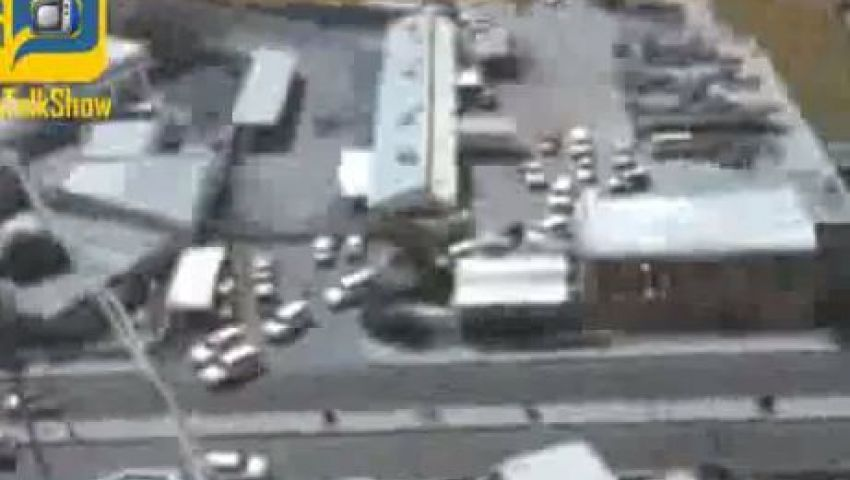 فيديو..لحظة هروب الرئيس اليمني قبل التدخل السعودي