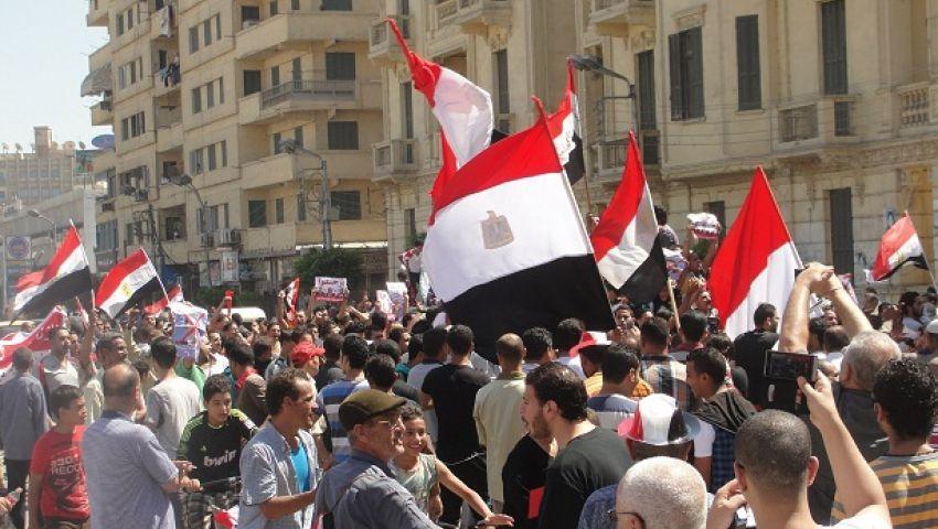 قطع شارع الجيش بالمنصورة للمطالبة برحيل الرئيس