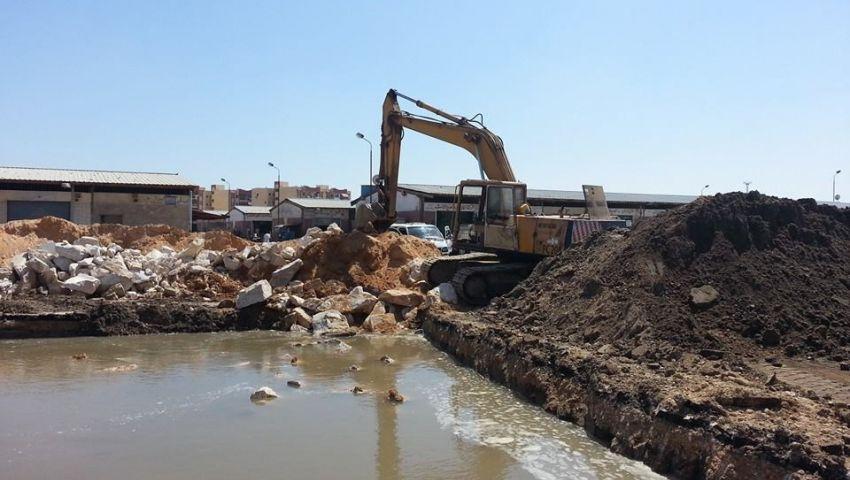 انقطاع مياه الشرب عن مدينة بورفؤاد