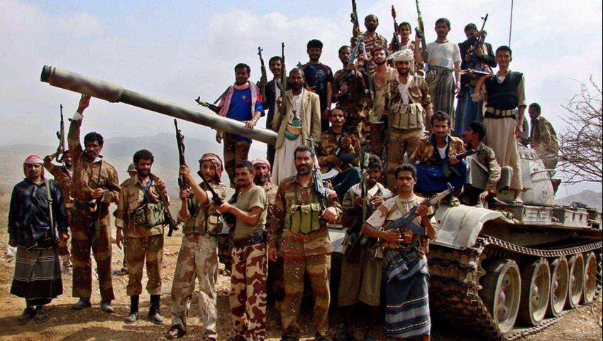 إدماج عناصر المقاومة الشعبية بالجيش اليمني