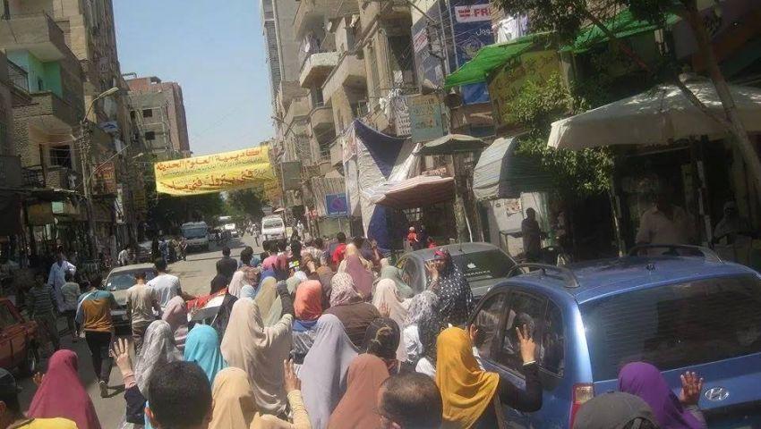 مسيرة ببني سويف لإحياء أحداث رمسيس