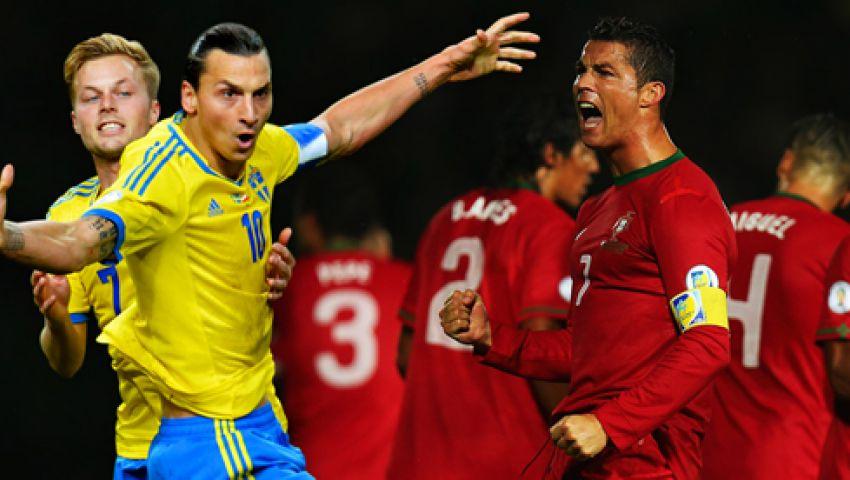 الليلة..أم المعارك بين السويد والبرتغال