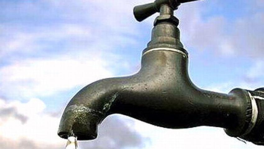 انقطاع مياه الشرب عن مدينة المحمودية 18 ساعة