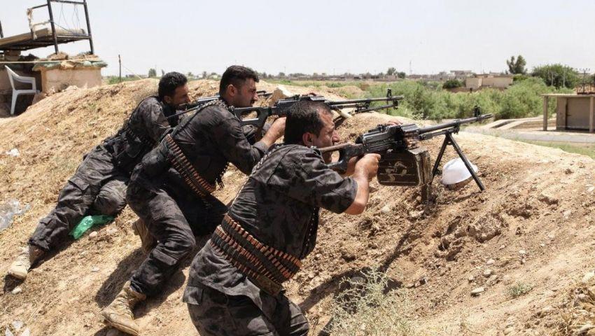داعش يسيطر على معسكر غرب الأنبار