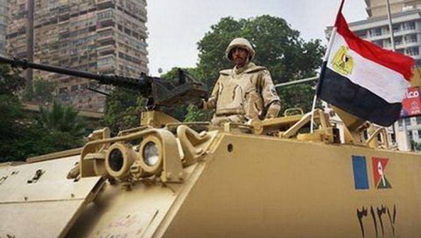 القبض على سائق بالجيزة لتعديه على قوات الجيش