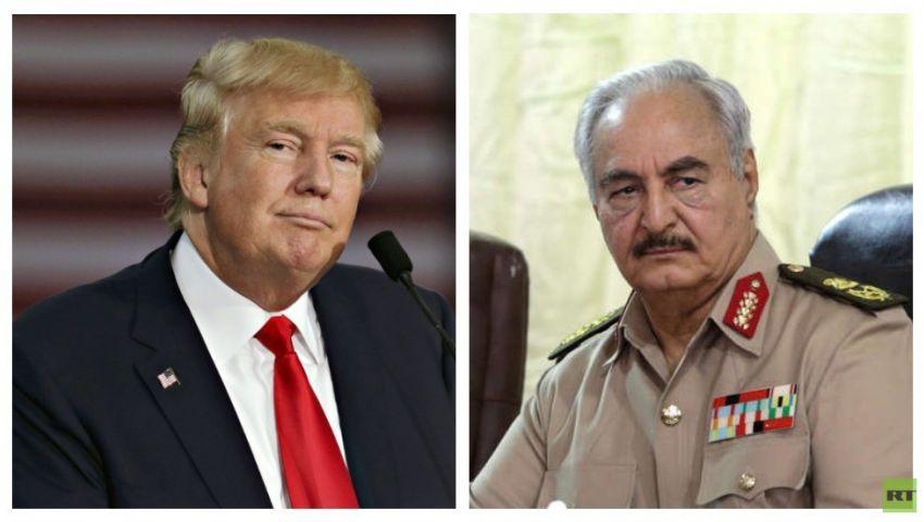 وول ستريت جورنال: بضغوط مصرية سعودية.. ترامب يدعم حفتر