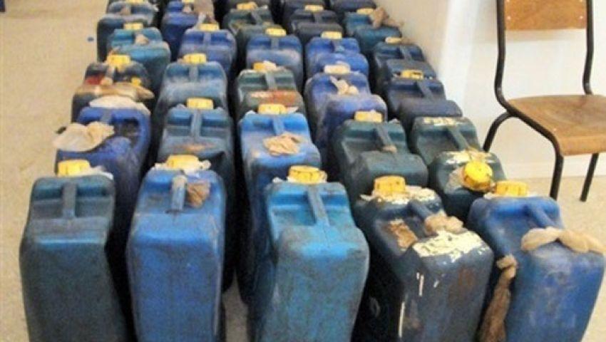 ضبط 15ألف لتر بنزين بالفيوم