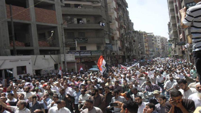مسيرة للإخوان والتيار الإسلامي بالفيوم
