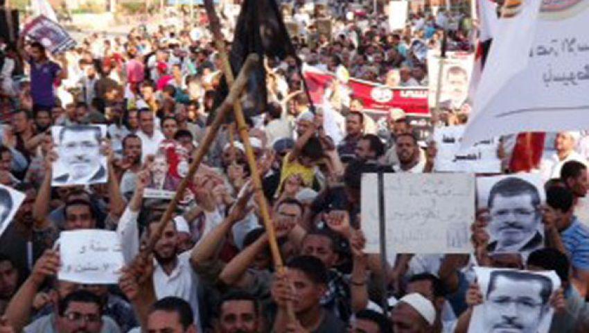 الأمن يطارد تظاهرات أسيوط بالغاز والخرطوش