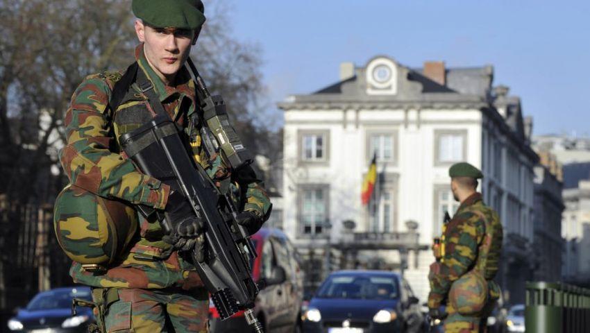 تواصل العمليات الأمنية في بروكسل