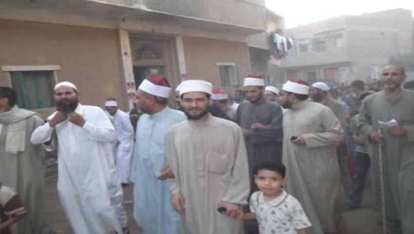 مسيرة لتأييد مرسي بالفيوم