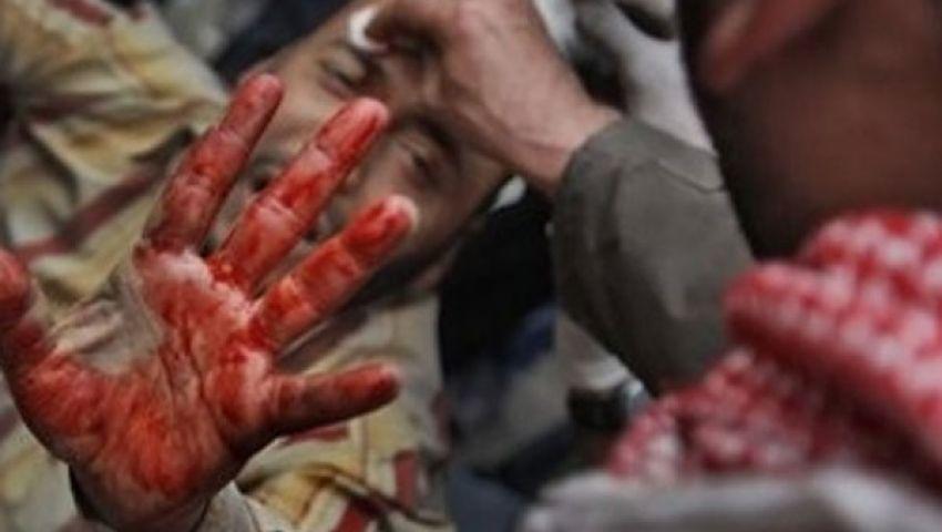 ٢٢ مصابًا من مؤيدي مرسي برابعة العدوية