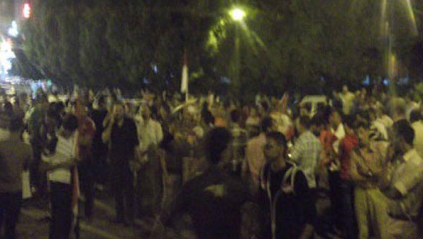غضب عارم بين مؤيدي مرسي في قنا