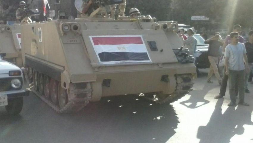 الجيش ينتشر بمنطقة سيدي جابر