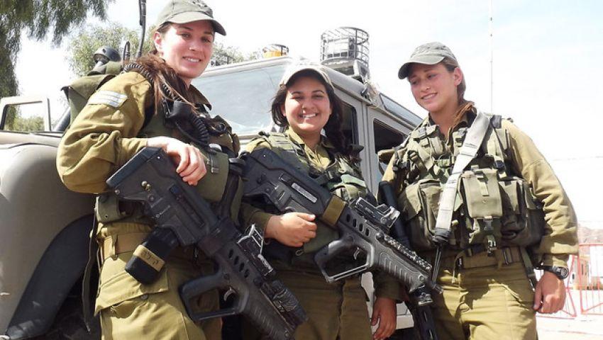 بالفيديو..النساء تحمي حدود إسرائيل
