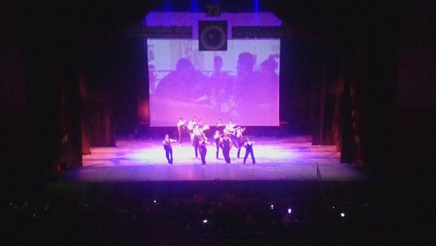 بالفيديو| خيال الظل والسيرك في ختام مهرجان المسرح التجريبي