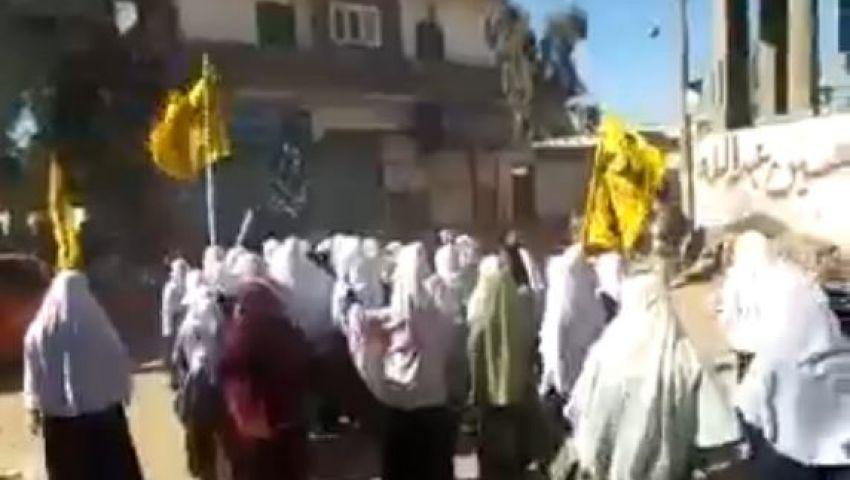 فيديو..مظاهرة نسائية بالدلنجات