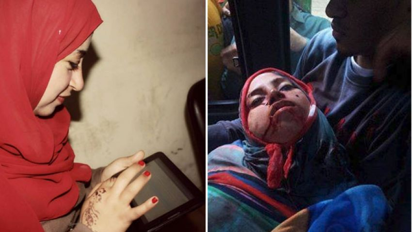بالفيديو..استشهاد مراسلة مصر العربية في مظاهرات عين شمس