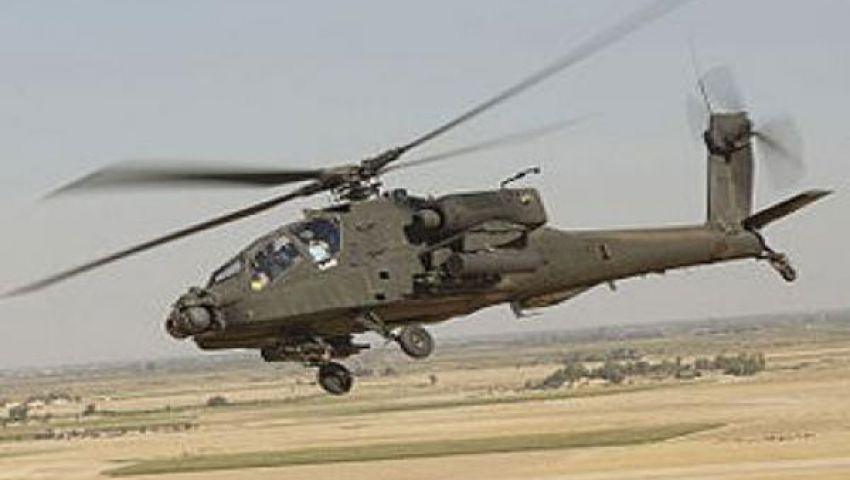 الأباتشي تحاصر شمال سيناء