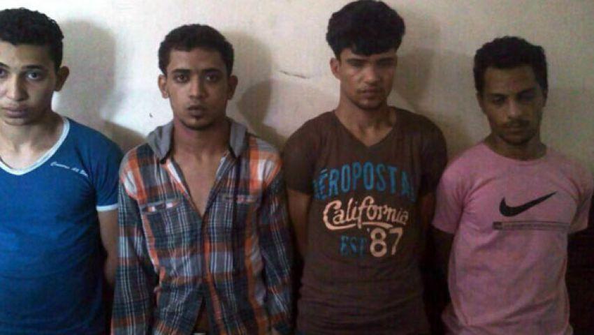 القبض على 4 أشقياء سرقوا سيارة بالإكراه