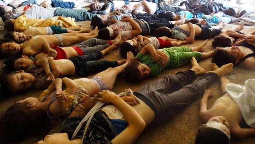 635 قتيلًا في هجوم كيميائي على دمشق