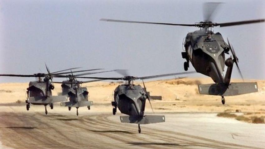 مصدر عسكري: الجيش يقصف بؤر إرهابية في سيناء