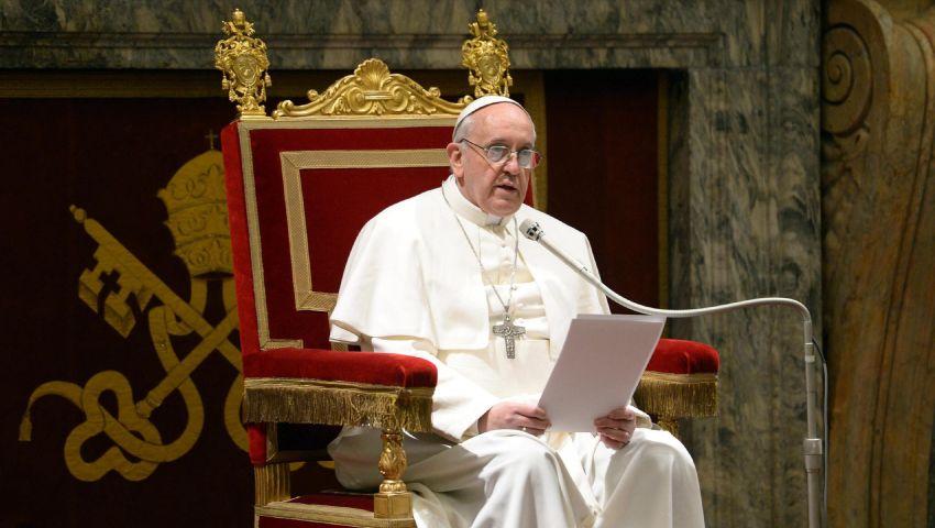 البابا فرنسيس: المسؤولون عن القصف بسوريا سيحاسبهم الله